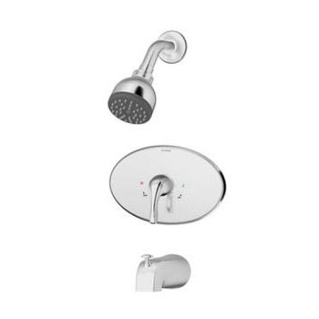 Symmons 9602-X-PLR-OP-SS2 Origins Tub and Shower System - Chrome