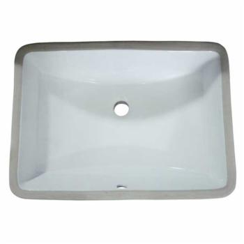 Artisan VCU-1913WH Vitreous China Bathroom Sink - White
