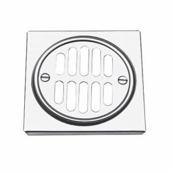 Brasstech 231 Shower Drain - Satin Nickel (Pictured in Polished Chrome)