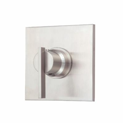 Danze D562044BNT Sirius Single Handle 3/4-Inch Thermostatic Shower Valve Trim Kit - Brushed Nickel (Valve Not Included)