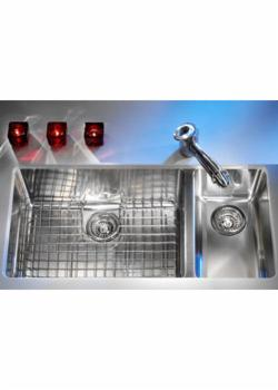 Franke KBX-160 Kubus Double Bowl Undermount Stainless Steel Kitchen Sink