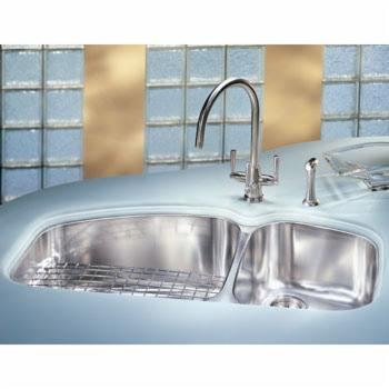 Franke VNX-120-37 Vision Double Bowl Undermount Stainless Steel Kitchen Sink