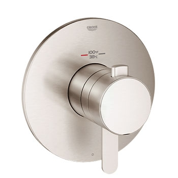 Grohe 19869EN0 GrohFlex Cosmopolitan Single Function Thermostatic Trim with Control Module - Brushed Nickel