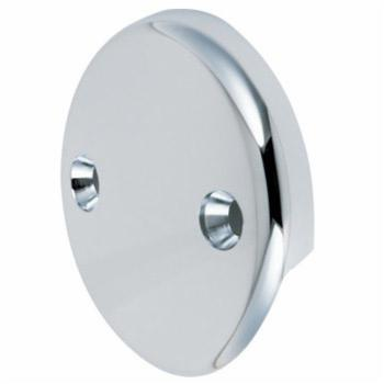 Specialty Products PLPPD14L 2 Hole Overflow Plate - Chrome