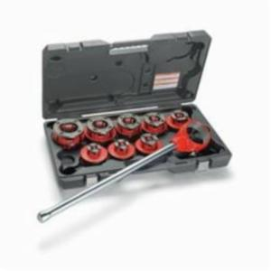 RIDGID® 36475 Exposed Ratchet Threader Set With Carrying Case, NPT, 1/2 to 2 in