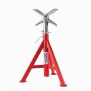 RIDGID® 56657 V-Head Low Pipe Stand, 12 in, 2500 lb