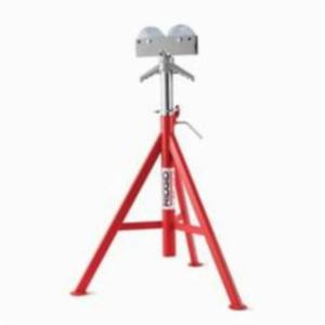 RIDGID® 56672 High Head Roller Pipe Stand, 12 in, 1000 lb