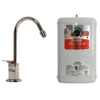 Water Inc WI-LVH500HC-SN EverHot LVH500 Hot/Cold system w/ Long Reach Spout for filter - Satin Nickel