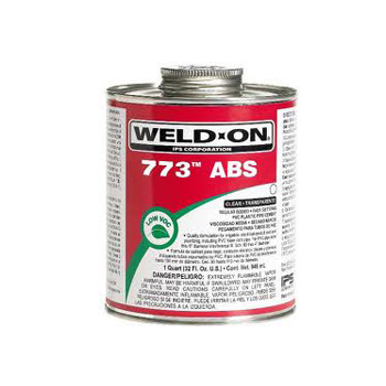IPS Weld-On 10244 1 Pint Black 773 ABS Medium Bodied Cement