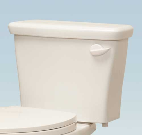 Western Pottery T8ULF-HET-RH 1.28 GPF Toilet Tank with Right Hand Flush lever - White